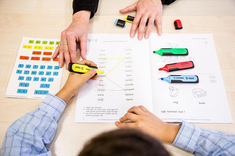 dyslexie oefeningen bij kinderen